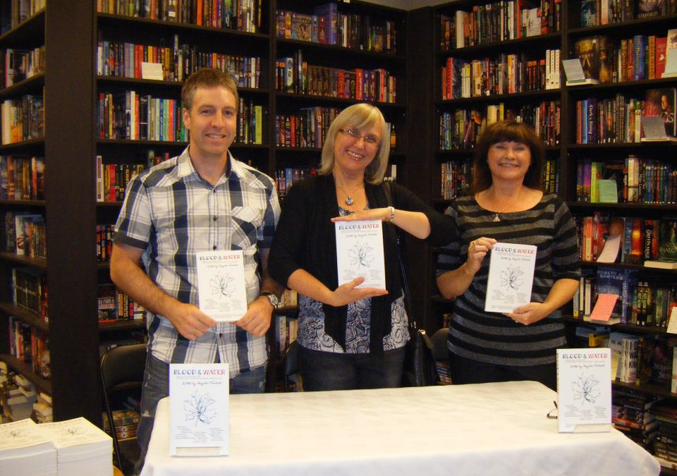 Blood & Water launch: Bakka Phoenix Books